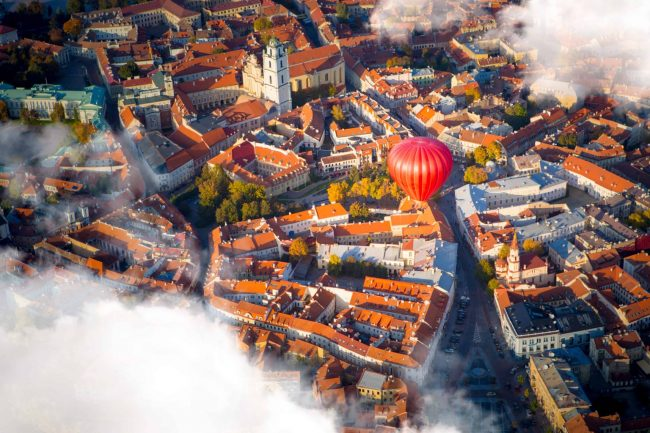 Vilnius Hot air balloon