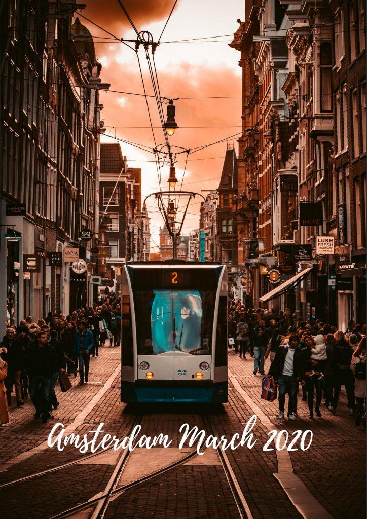 Amsterdam Event Calendar March