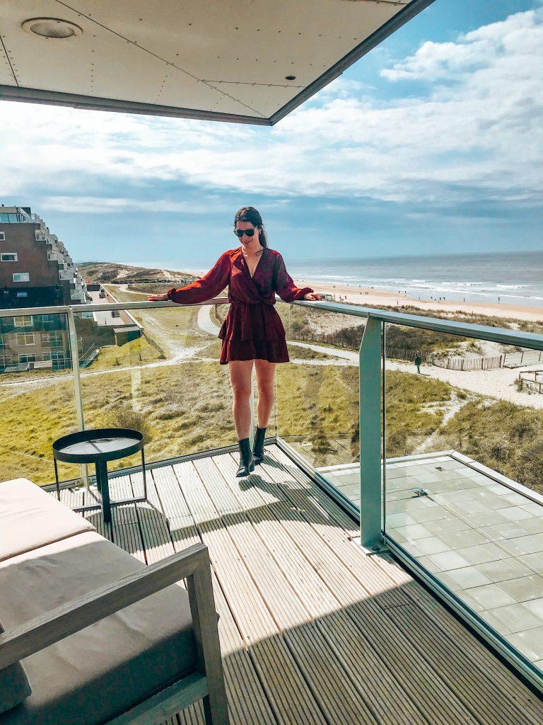 Maris Apartments, balkon