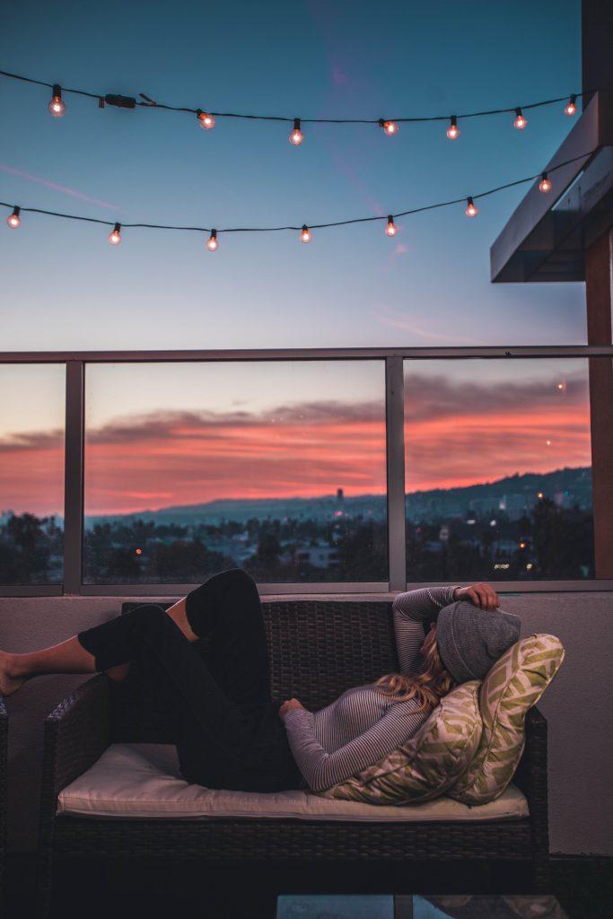 Garden and balcony trends 2020, lights