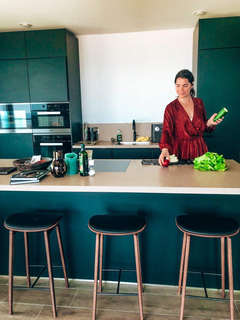 Maris Apartments kitchen