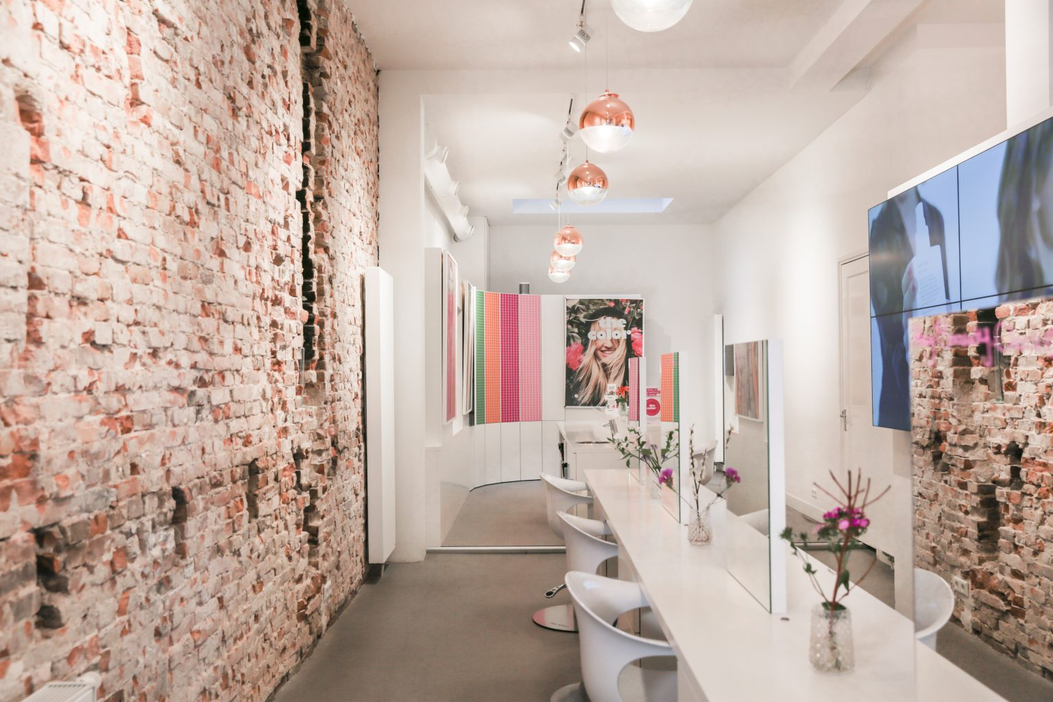 prettiest hair salons, the color