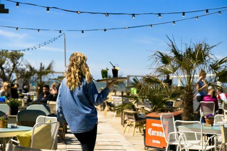 The Fat Mermaid beach Bar Netherlands
