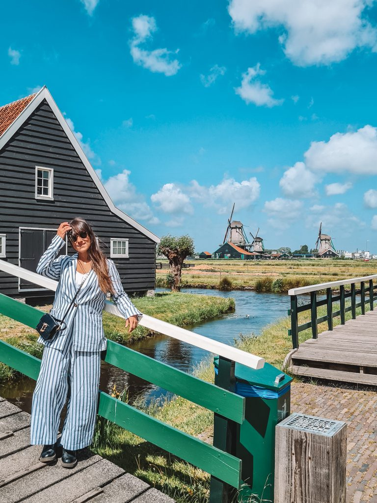 Zaanse Schans without tourists
