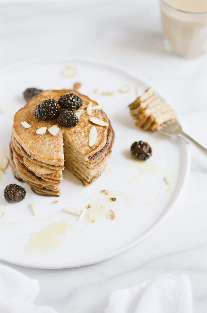 Healthy Pancakes, healthy breakfast and easy
