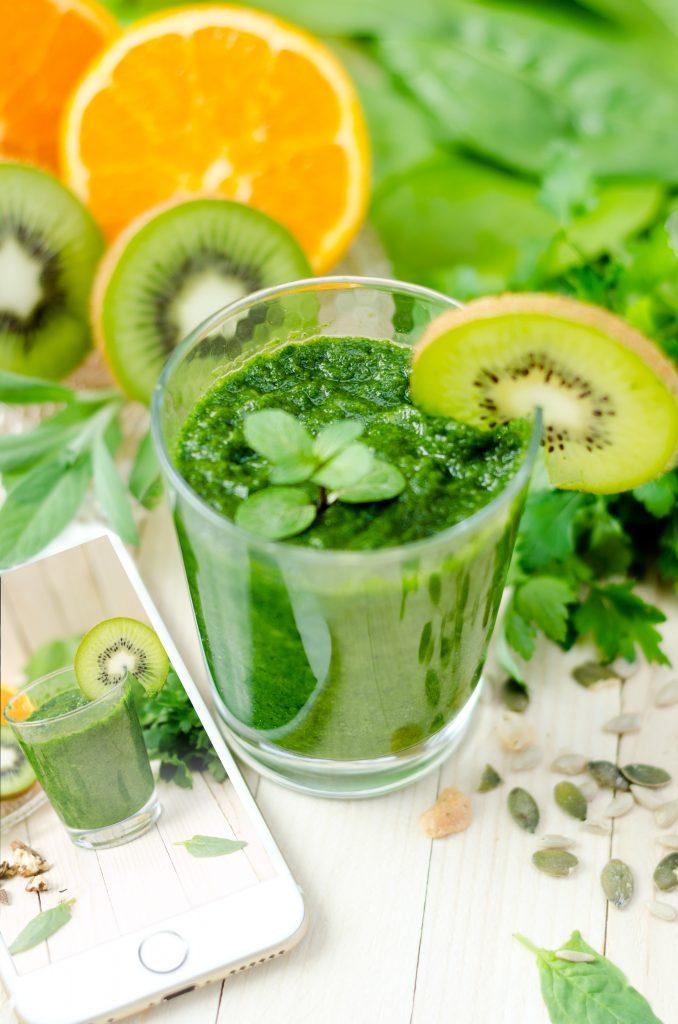 Green Smoothy Breakfast