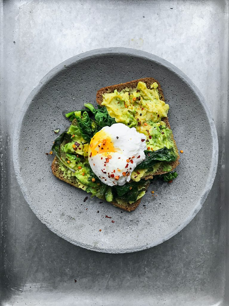 Avo on toast, healthy and easy to prepare breakfast recipes