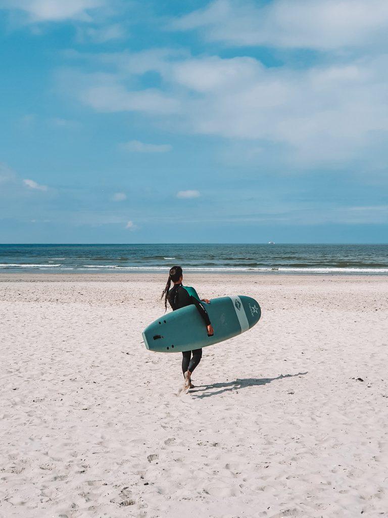 Surfing Ameland