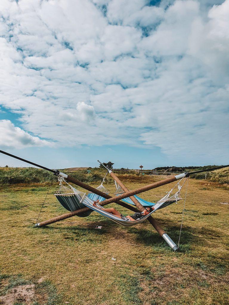 Hammoch ripstar surfcam Ameland