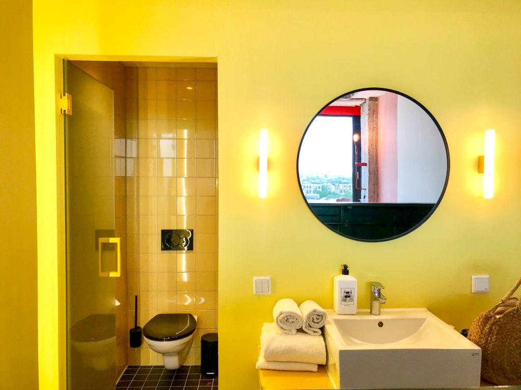 Hotelroom Volkshotel Amsterdam