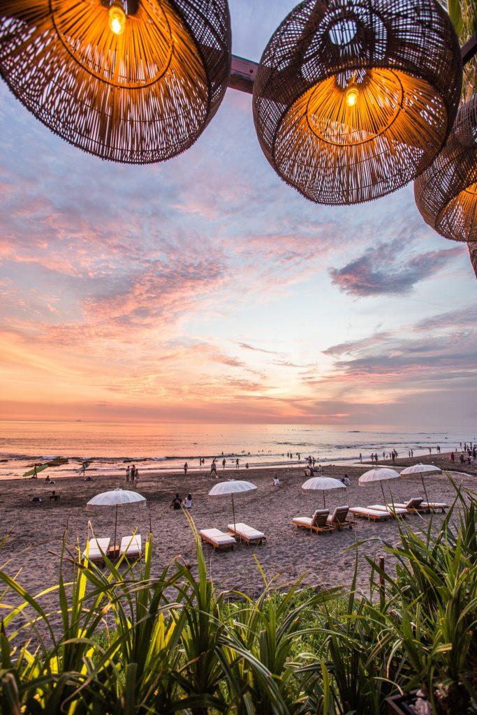 Bali beach bar
