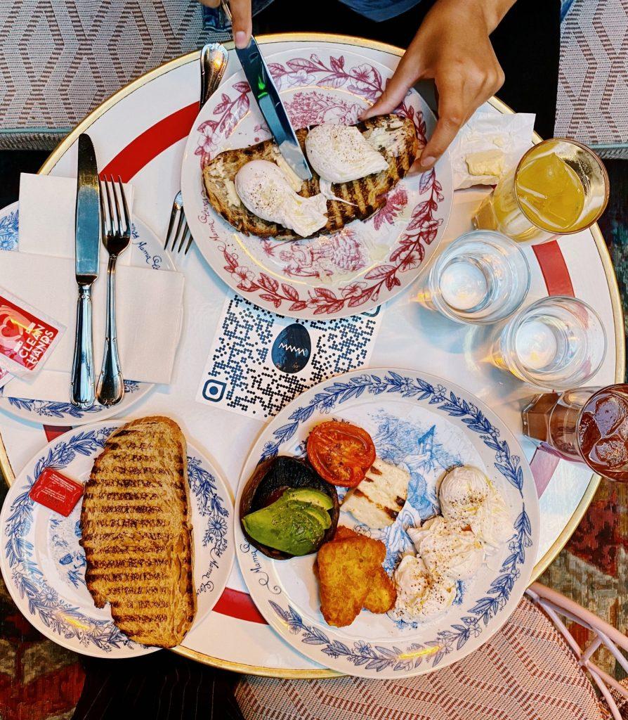 Breakfast Mama Shelter London