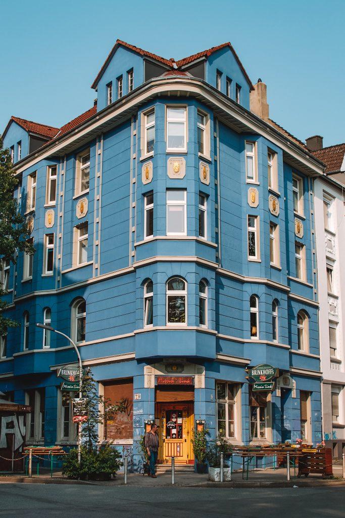 Dortmund Blue building