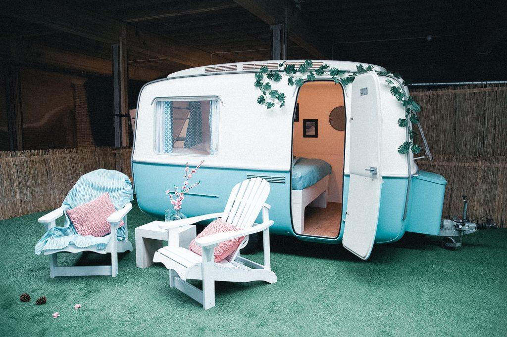 Indoor Camping Caravan