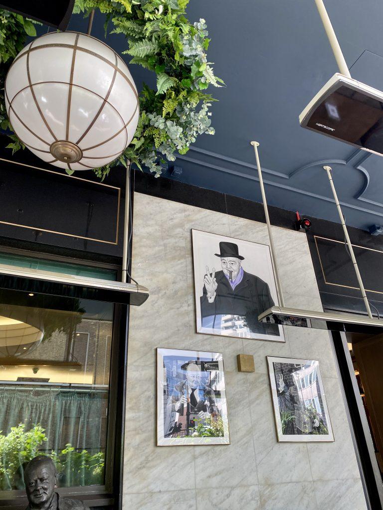 Interior Churchill Bar
