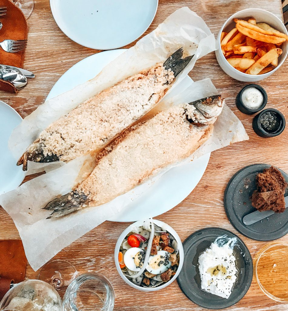 Kook Atelier Op Oost vis