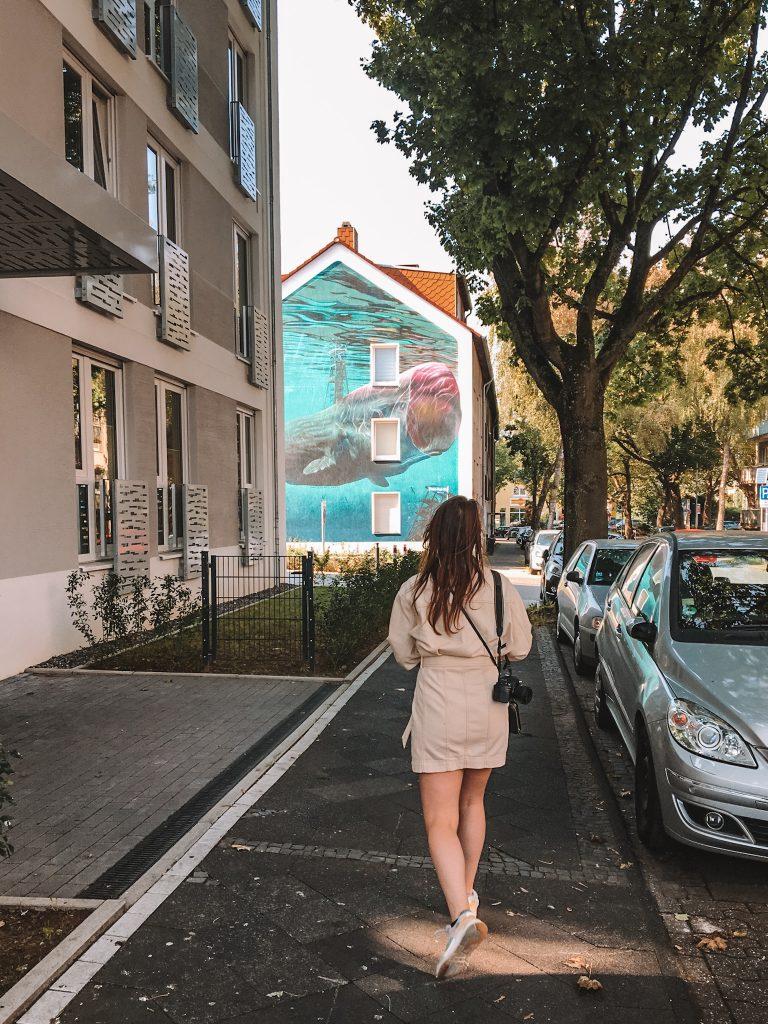 Wall art Bochum, Germany