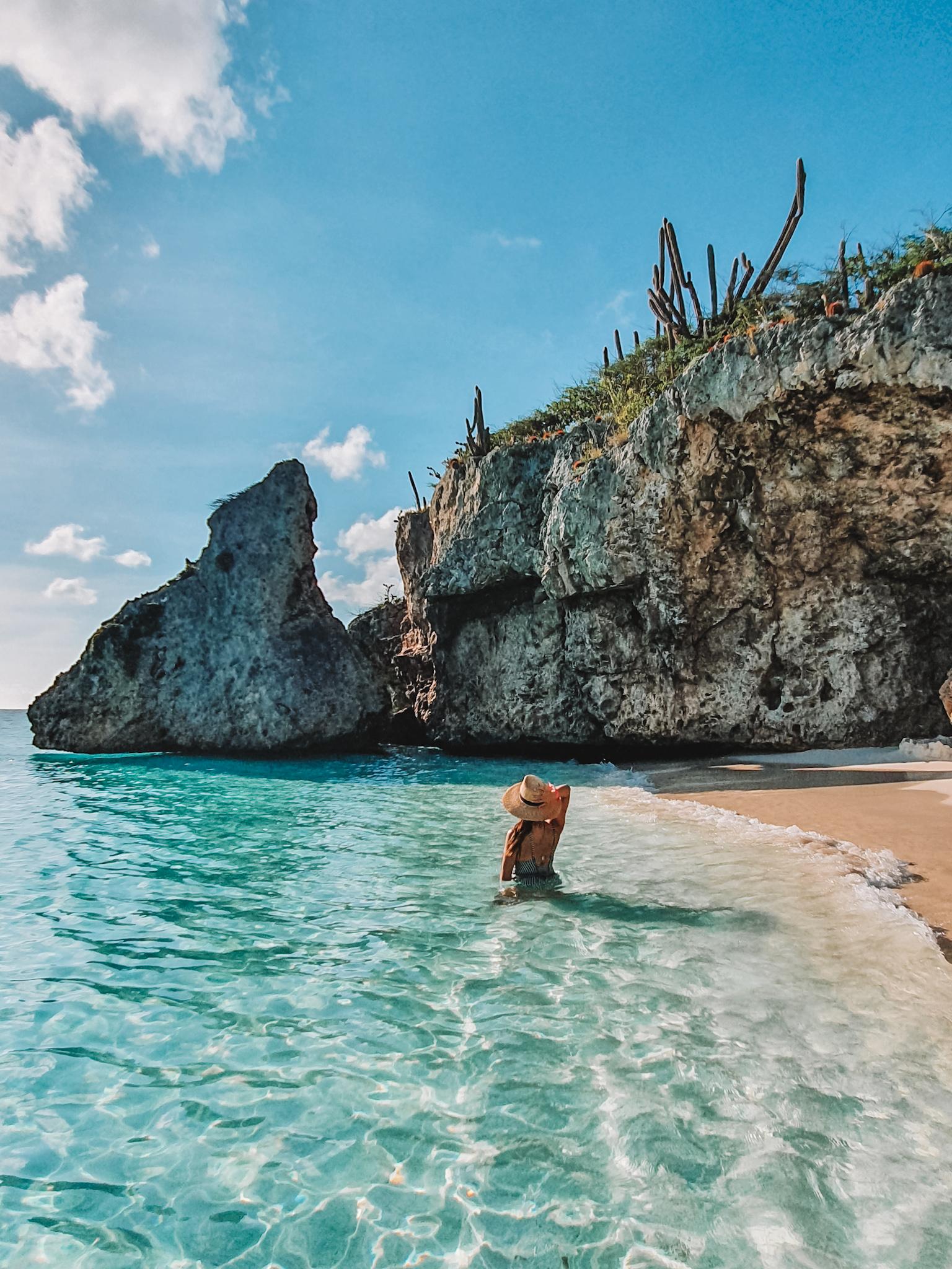 Cas Abou beach Curaçao