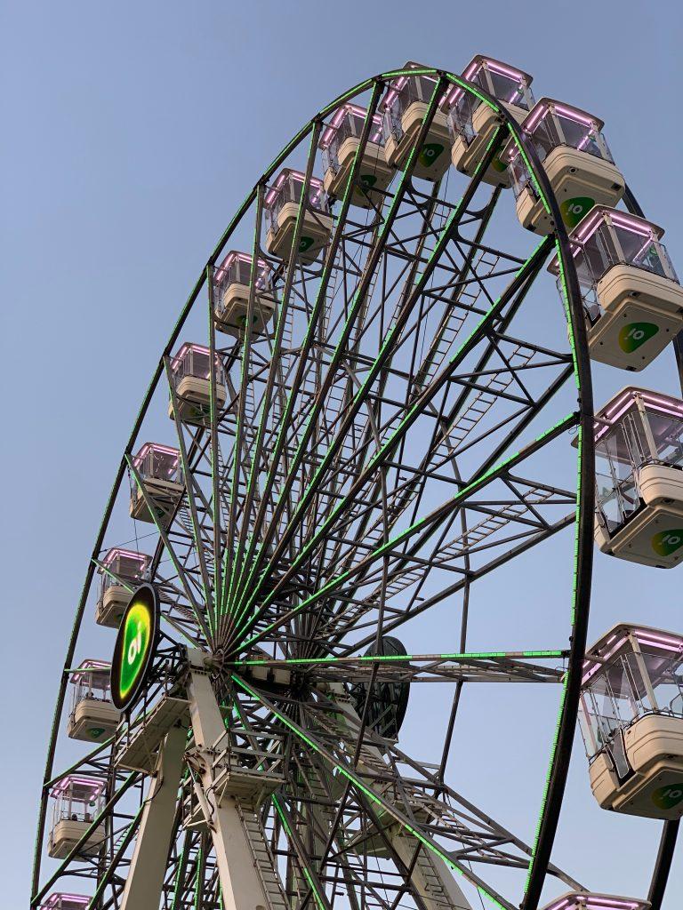 Ferris Wheel dining Amsterdam