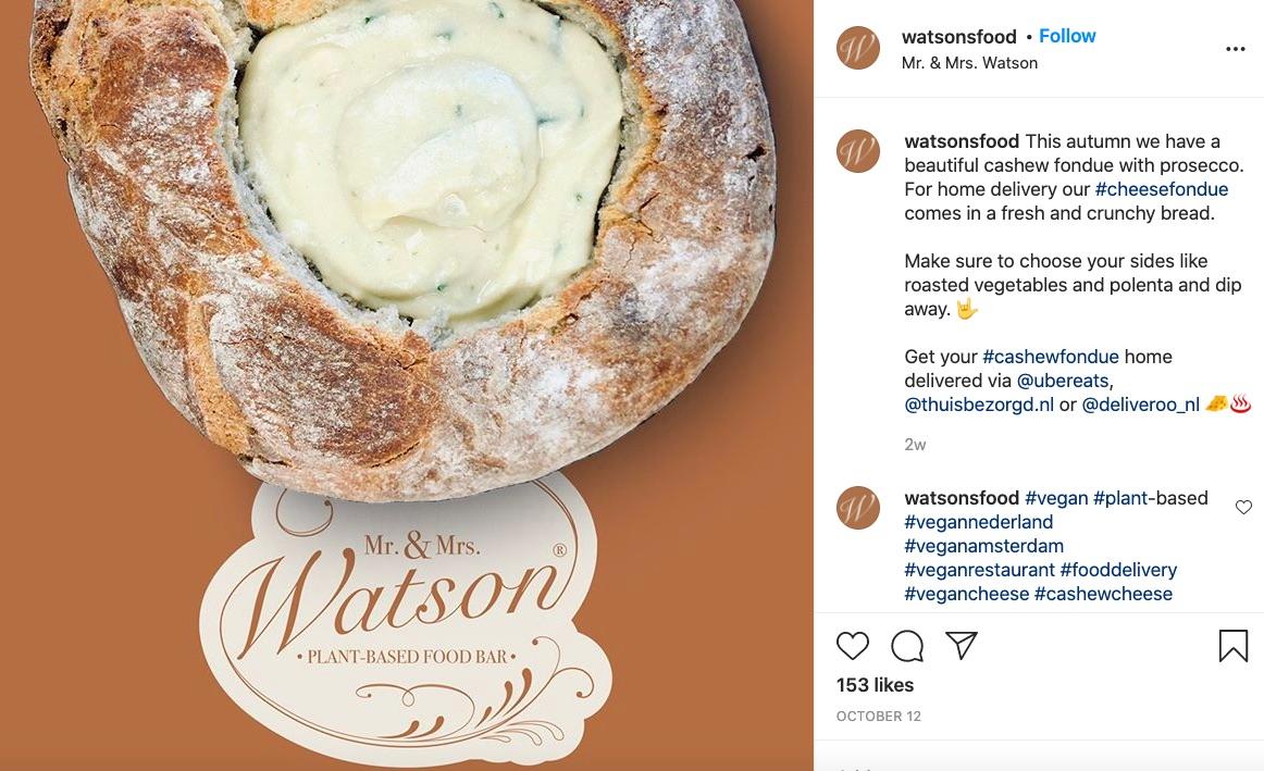 Vegan cheese Watson