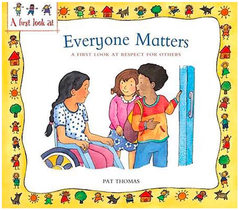 Children's book about diversity, Everyone Matters