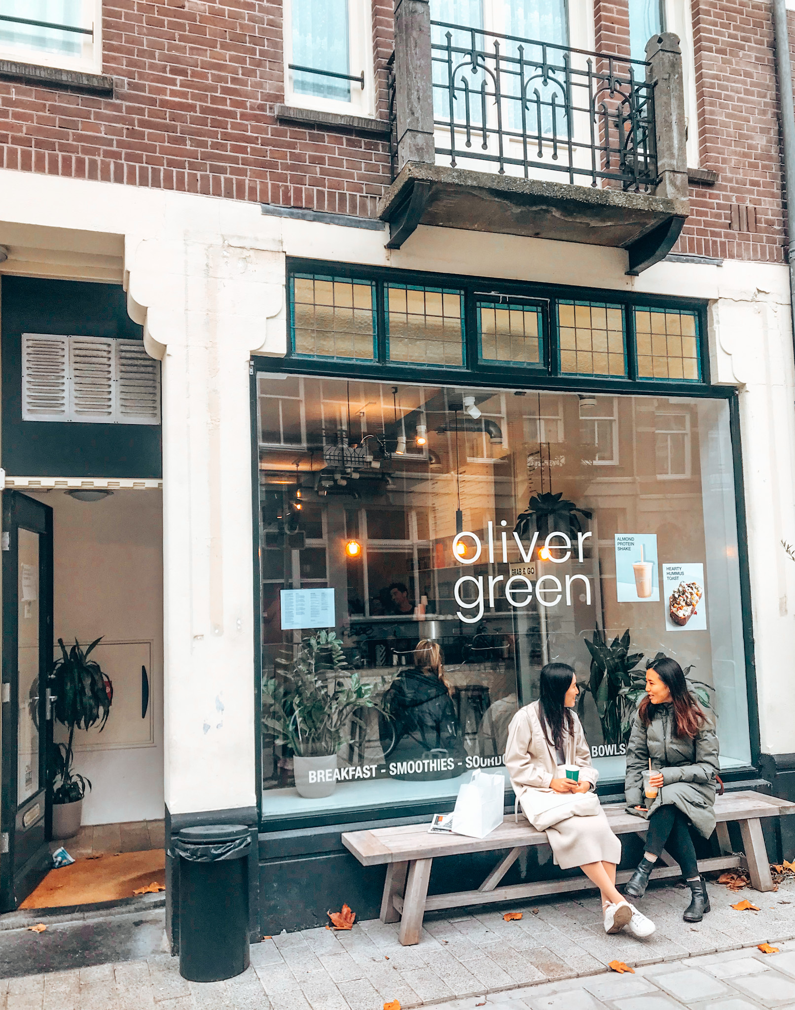 Oliver Green, best coffee in Amsterdam