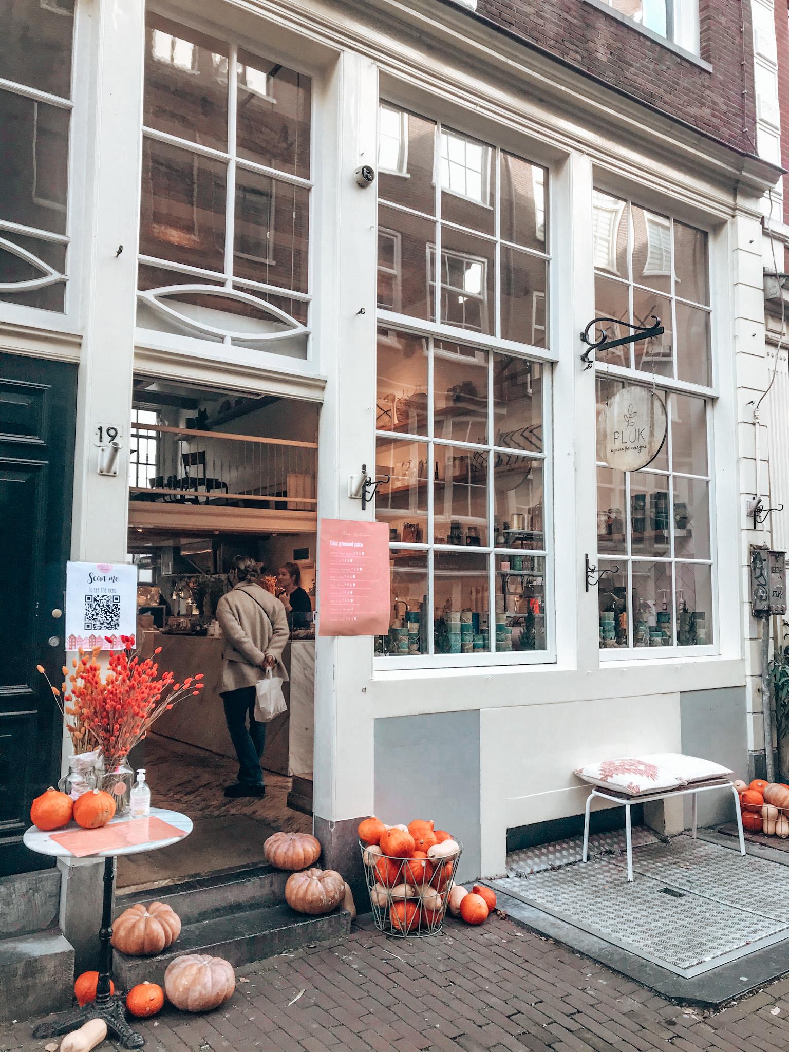 Pluk Amsterdam, best coffee in Amsterdam