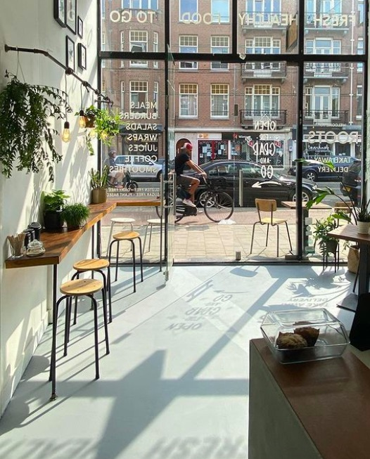 Roots, best coffee in Amsterdam