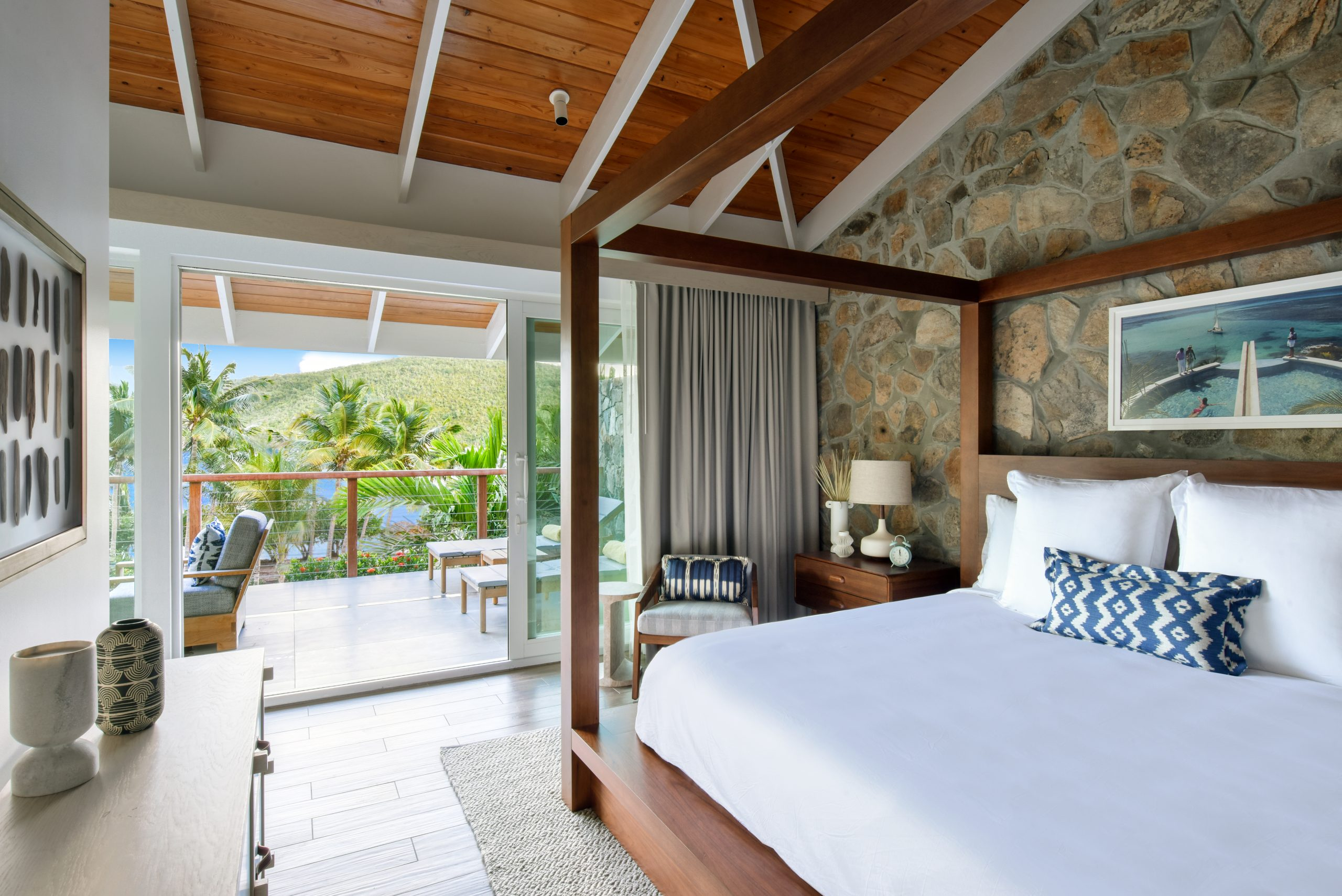 bedroom Rosewood Virgin Islands