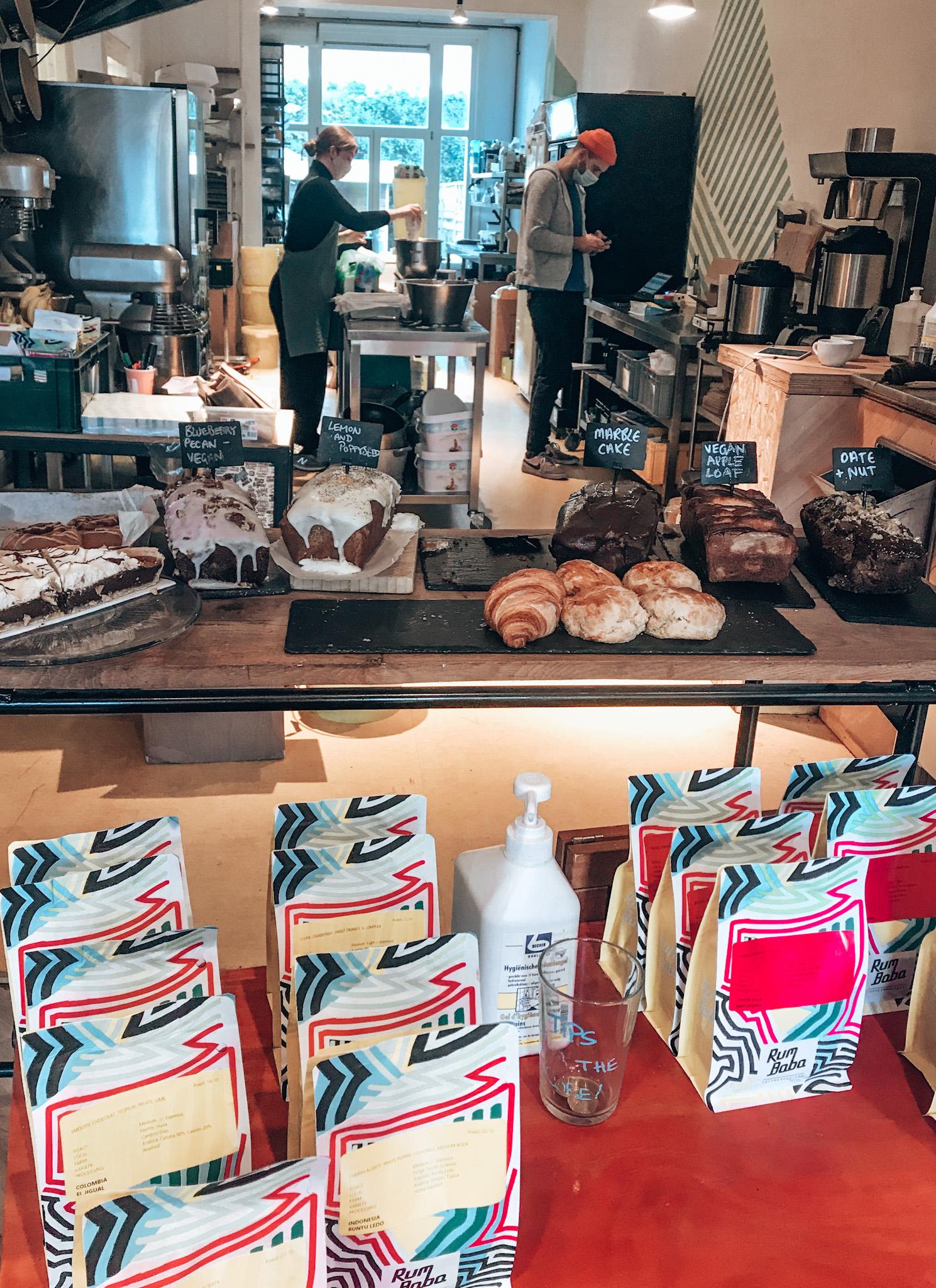 Rumbaba Bakery & Roastery, best coffee bars Amsterdam