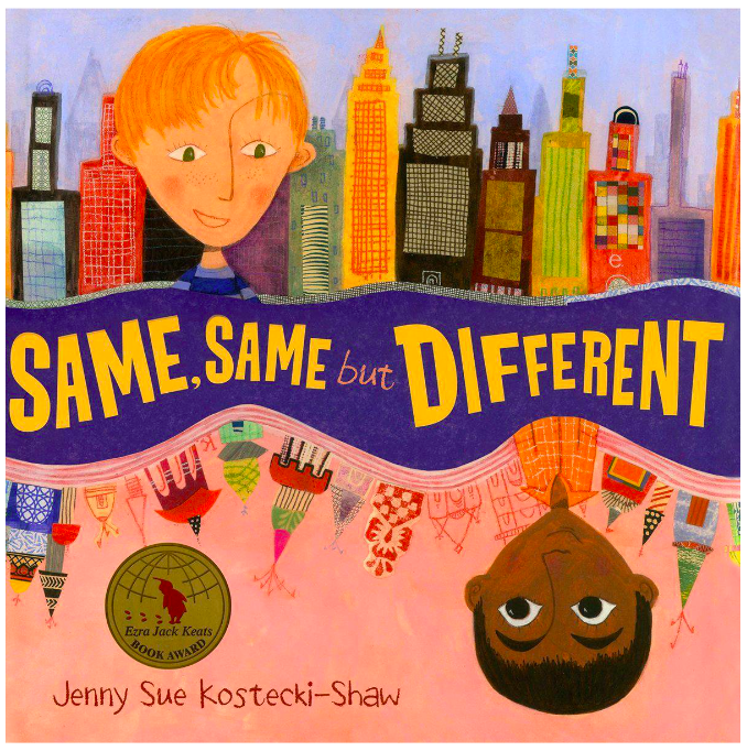 Same Same But Different Children Book, diversity