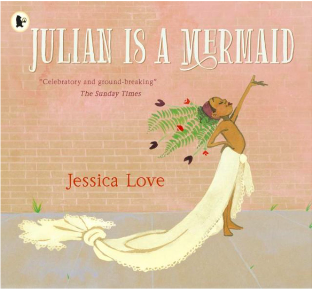 Children's book, Julian is a Mermaid