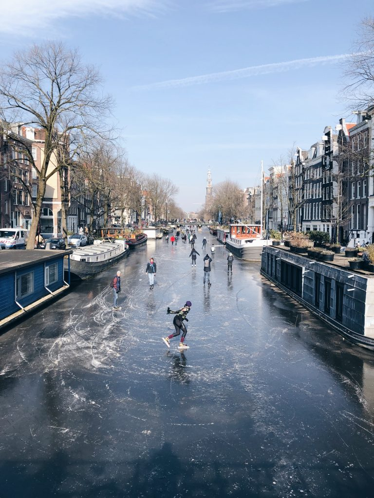 Natural ice Amsterdam