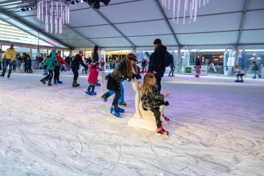 ice skating Scheveningen