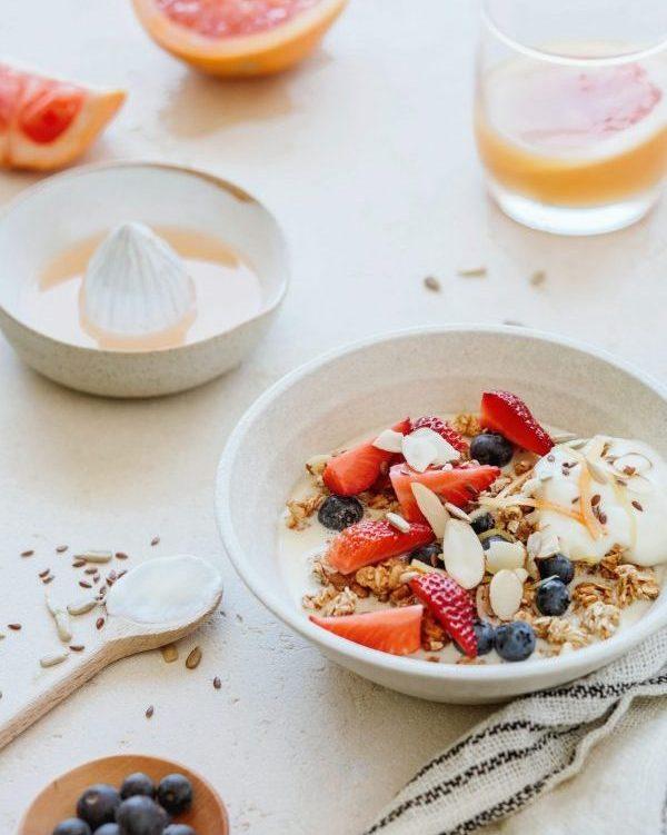 Coconut yogurt bowl recipe