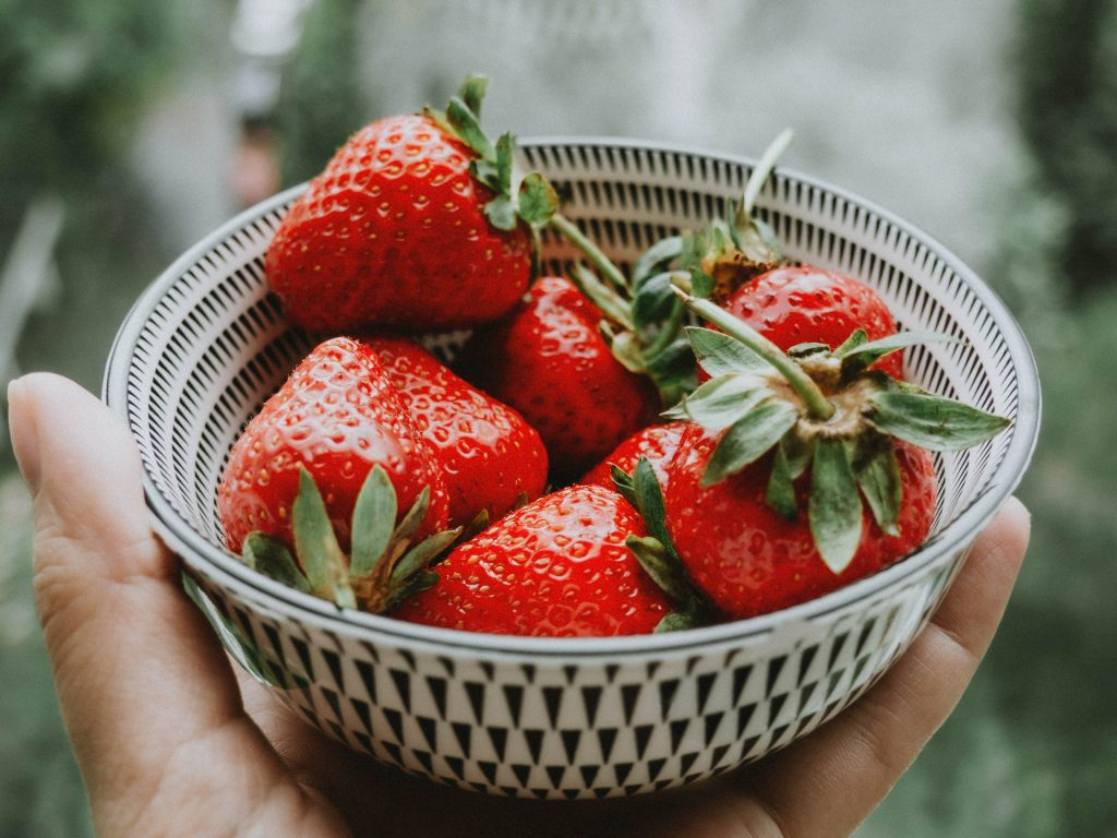 strawberry topping