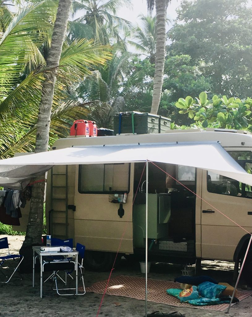 Front Porch campervan