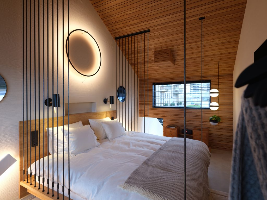 Master bedroom Vondice Amsterdam