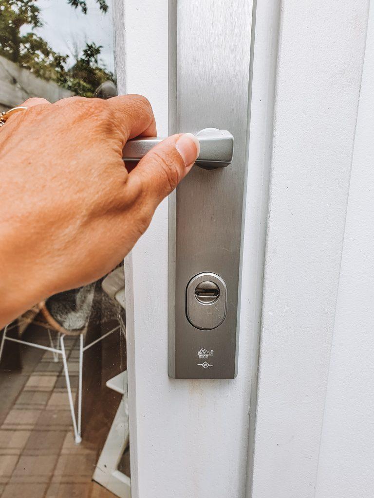 Kitchen door lock