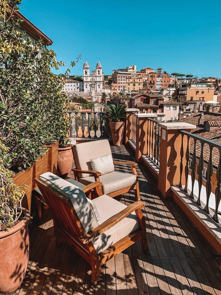 Best hotels Rome; Portrait Roma