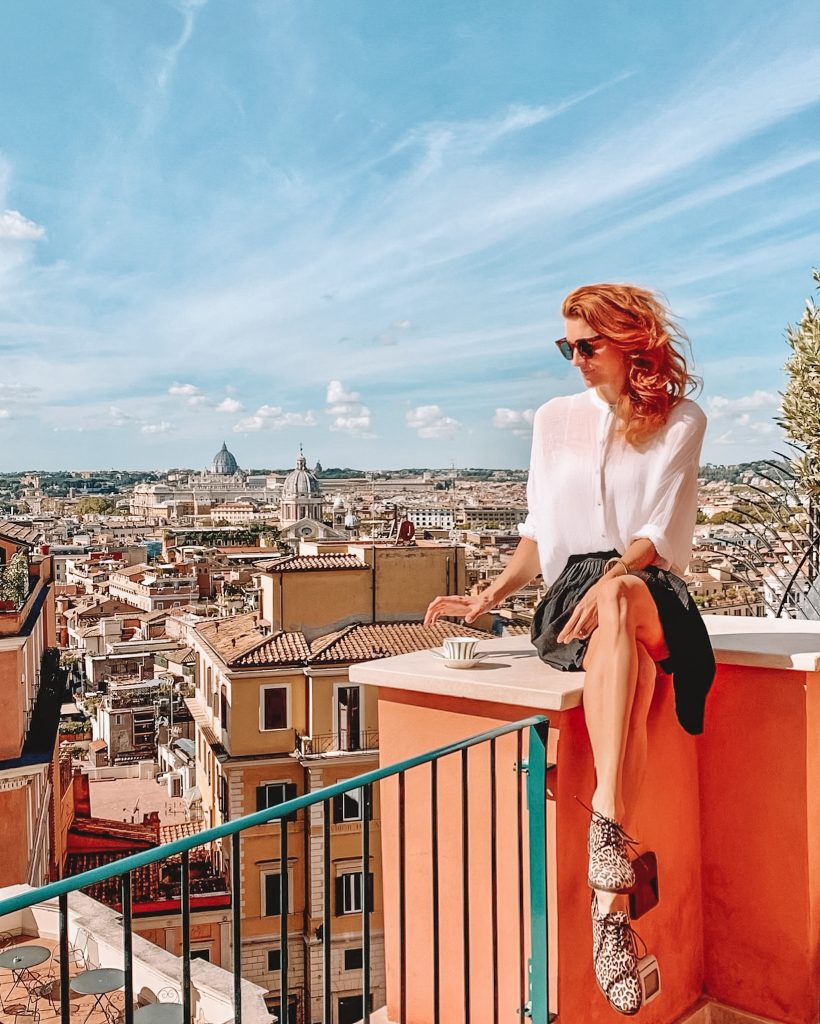 rooftop Hotel de la Ville Rome