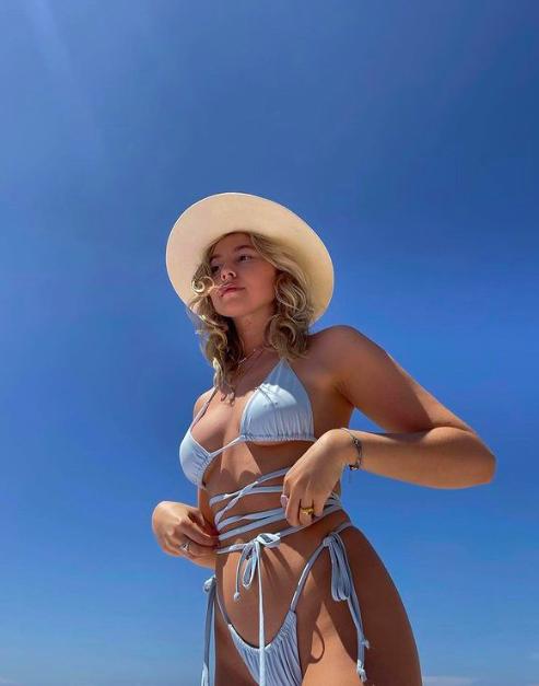 Long strap Bikini Swimwear trend 2021