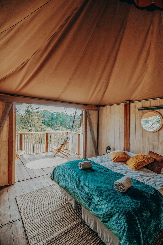 Glamp Outdoor Camp Dormer Cabin interieur