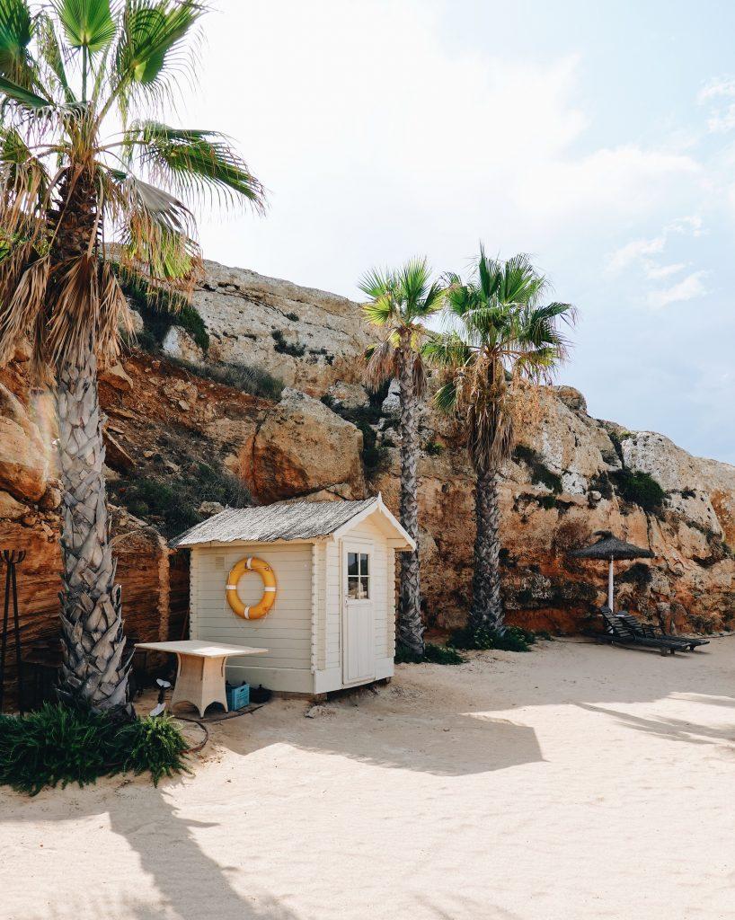Mallorca beach hut