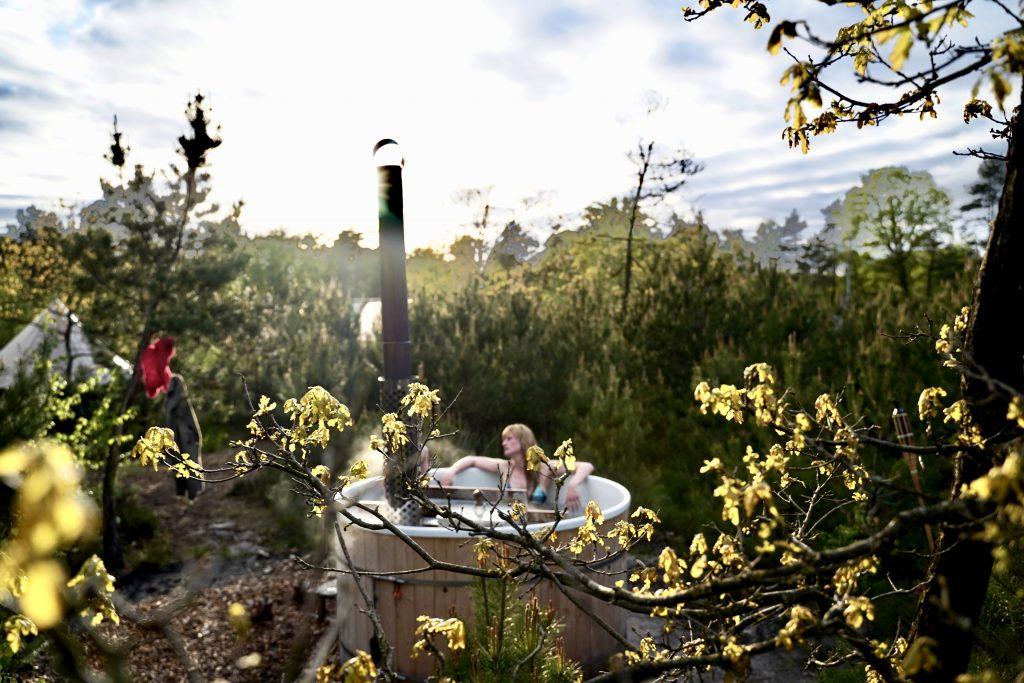Outdoor Jacuzzi Glmap outdoor Camp