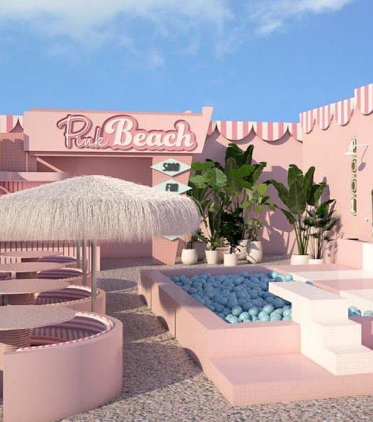 Pink Beach Amsterdam