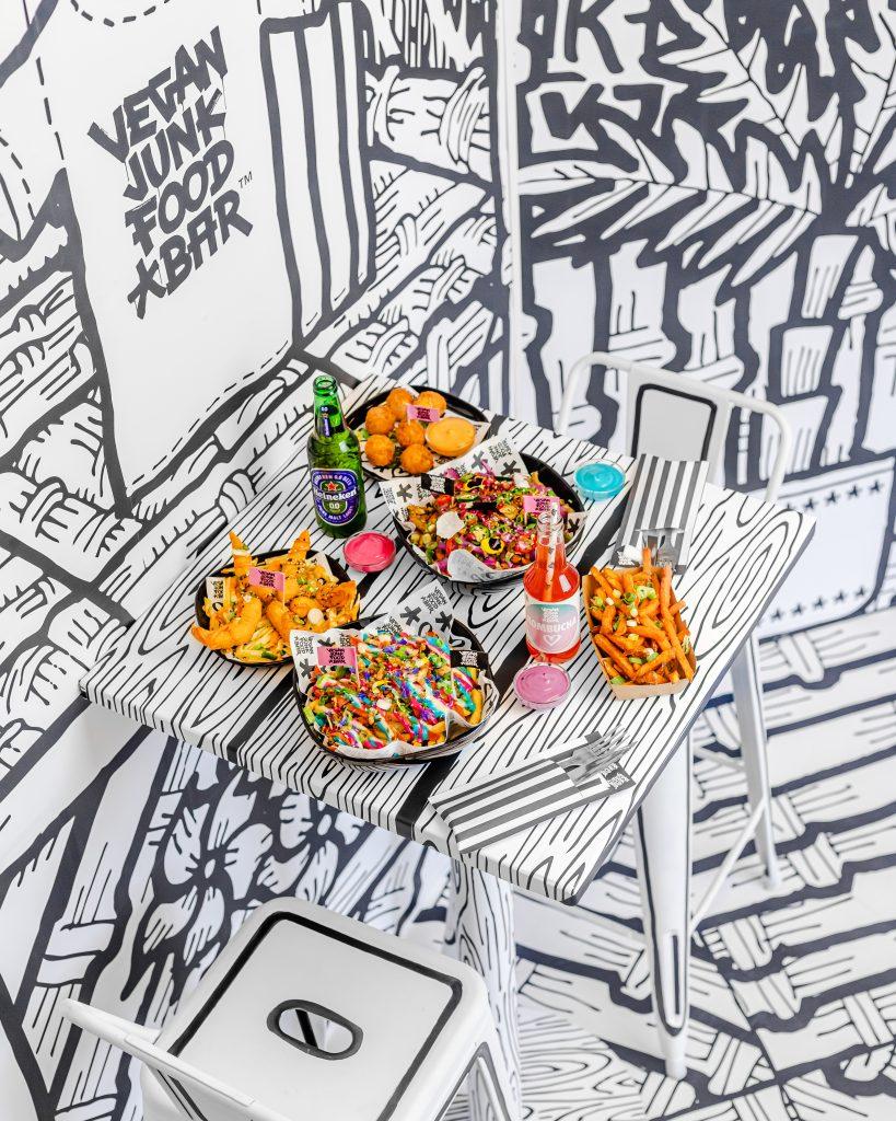 Vegan Junkfood Bar 2D new hotspot Amsterdam