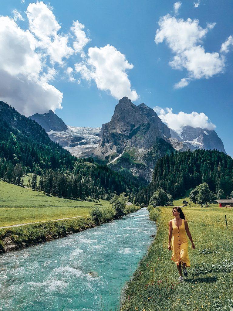Rosenglaui Glacier Switzerland on a budget