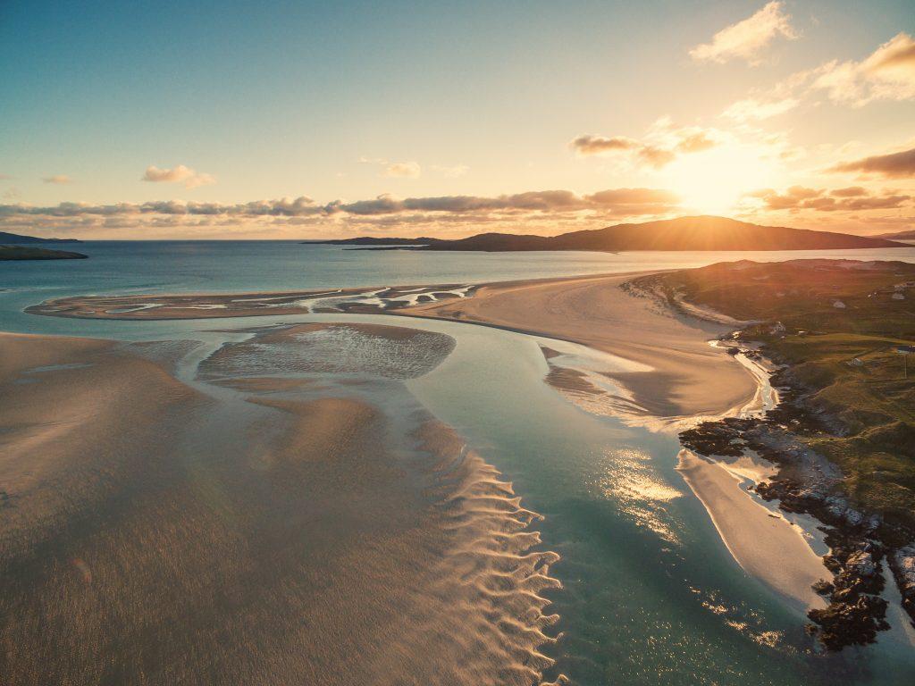 The beach at Luskentyre, Isle of Harris