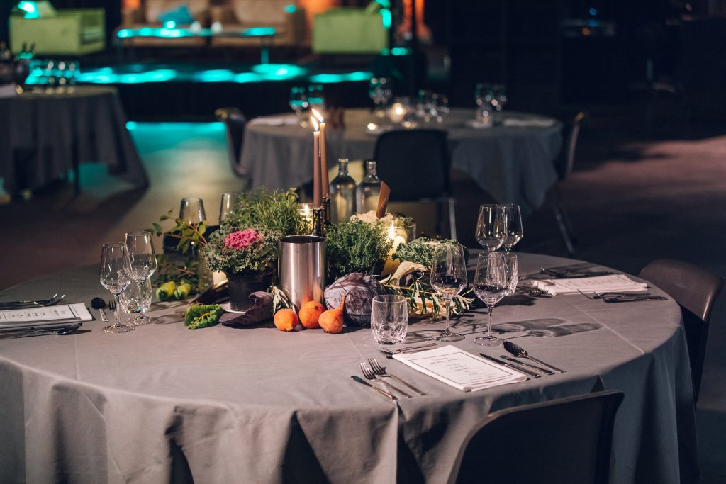 The Greanery table setting